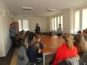 """grupowe spotkanie informacyjne """"Poradnik dla młodych"""""""